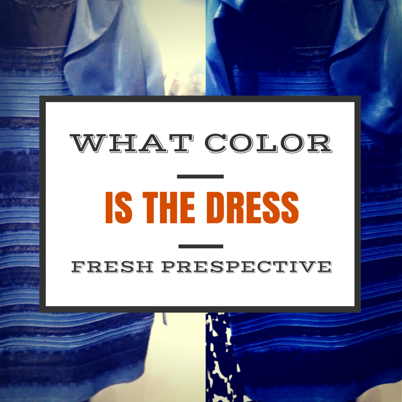 Another Perspective on What Color Is the Dress